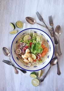 Asian Veggien Noodle Soup