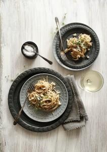 Blue Cheese Spaghetti