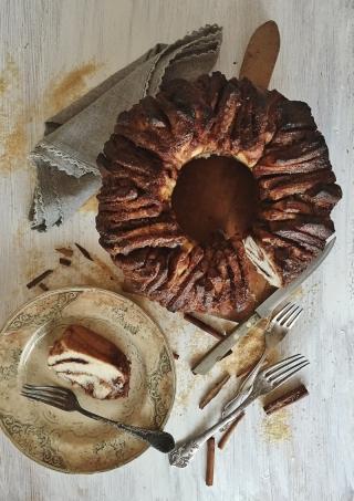 Sweet Cinnamon Pull apart Bread