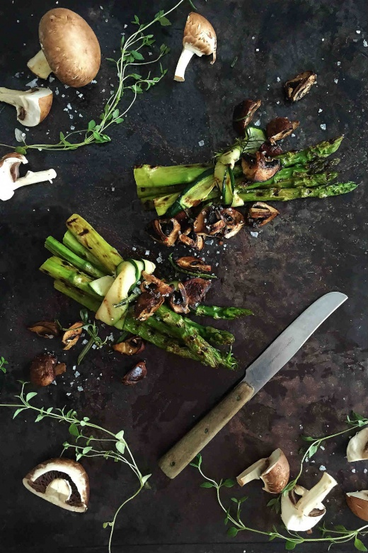 grillet-asparges-sopp