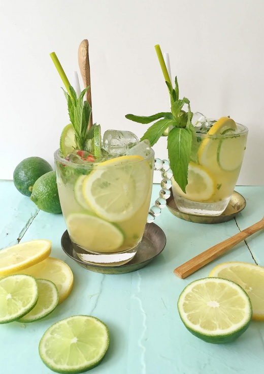 sitron-lime-limonade-mynte