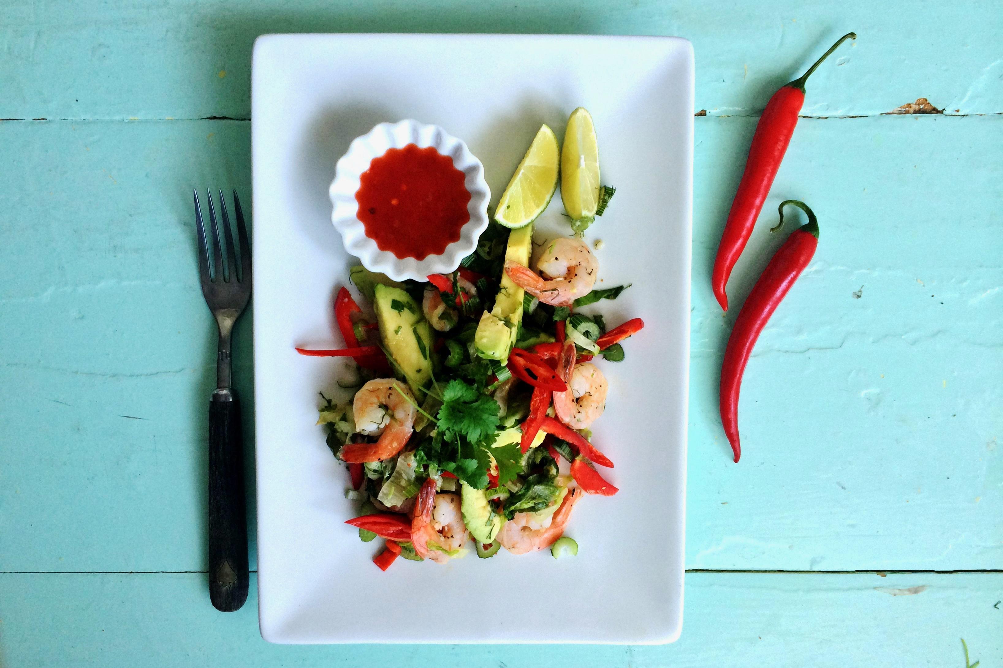 """Snug"" Scampi Salad"